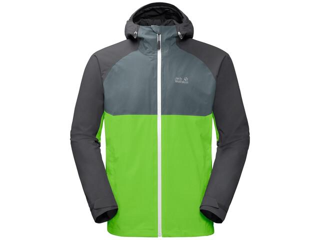 Jack Wolfskin Mount Isa 3-in-1 Jas Heren, leaf green
